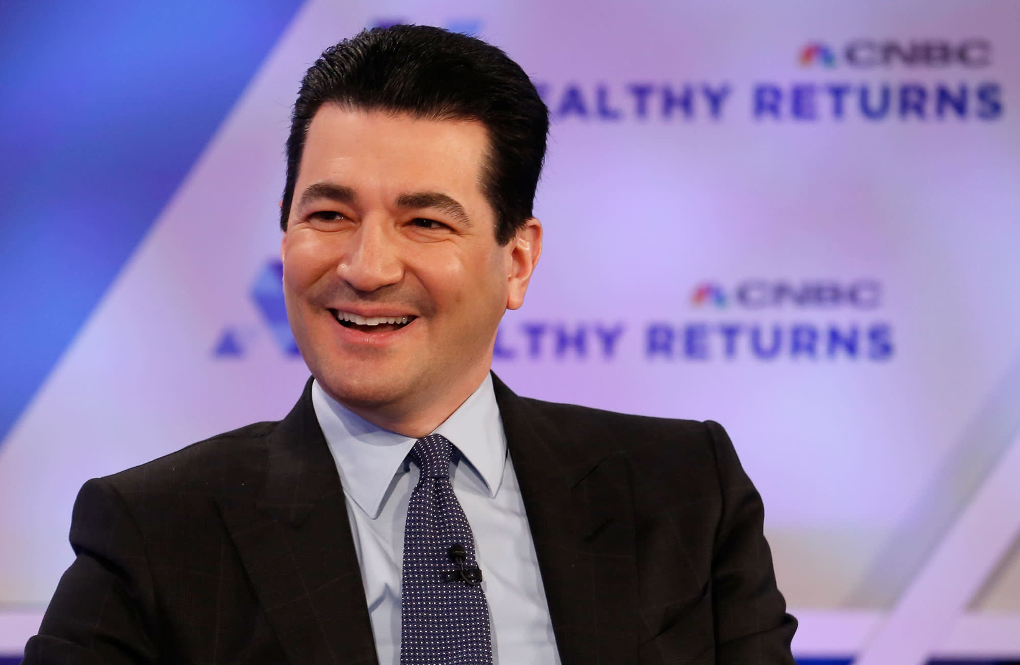 Scott Gottlieb, former Commissioner of the Food and Drug Administration, speaking at the CNBC Healthy Returns Conference in New York on March 28th, 2018.