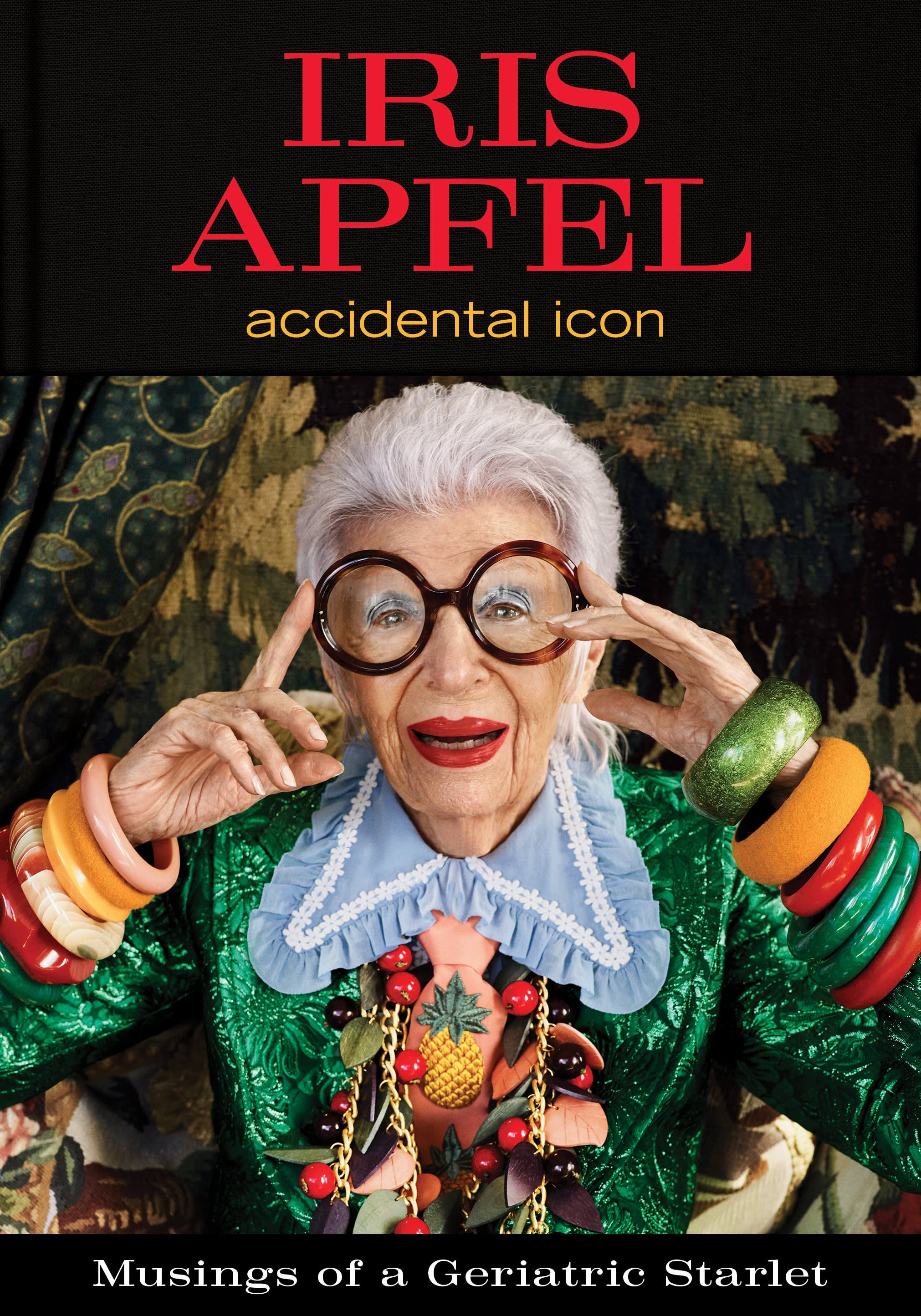 HANDOUT Iris Apfel book cover