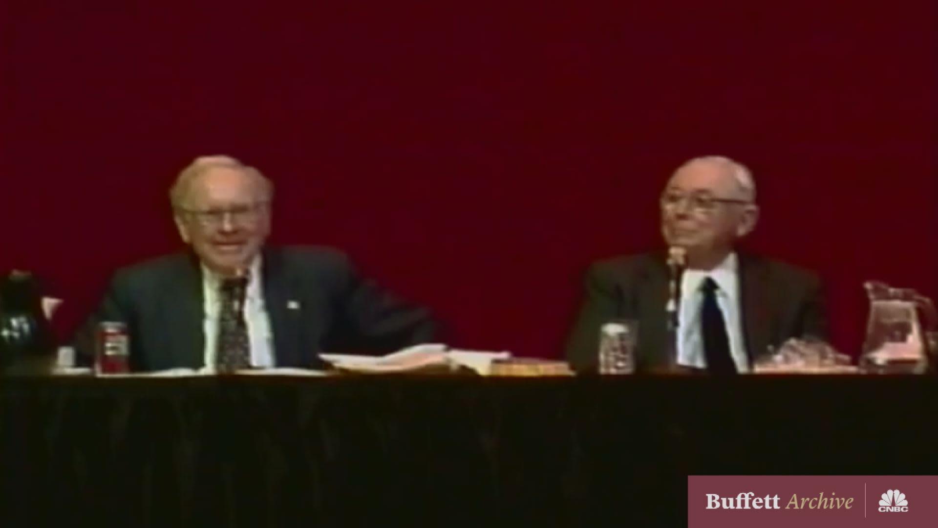 Buffett and Munger on friendship