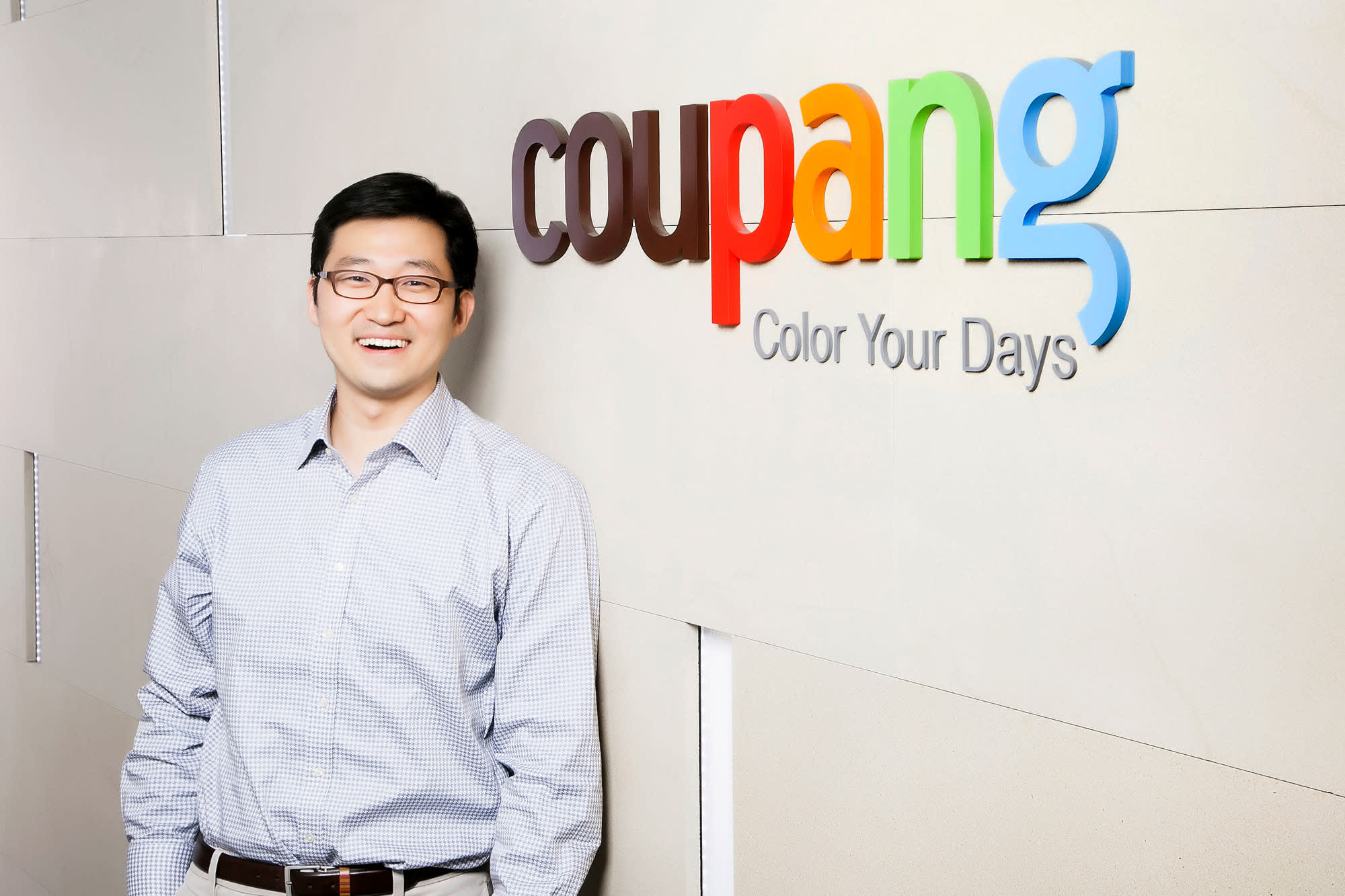 Coupang founder and CEO Bom Kim