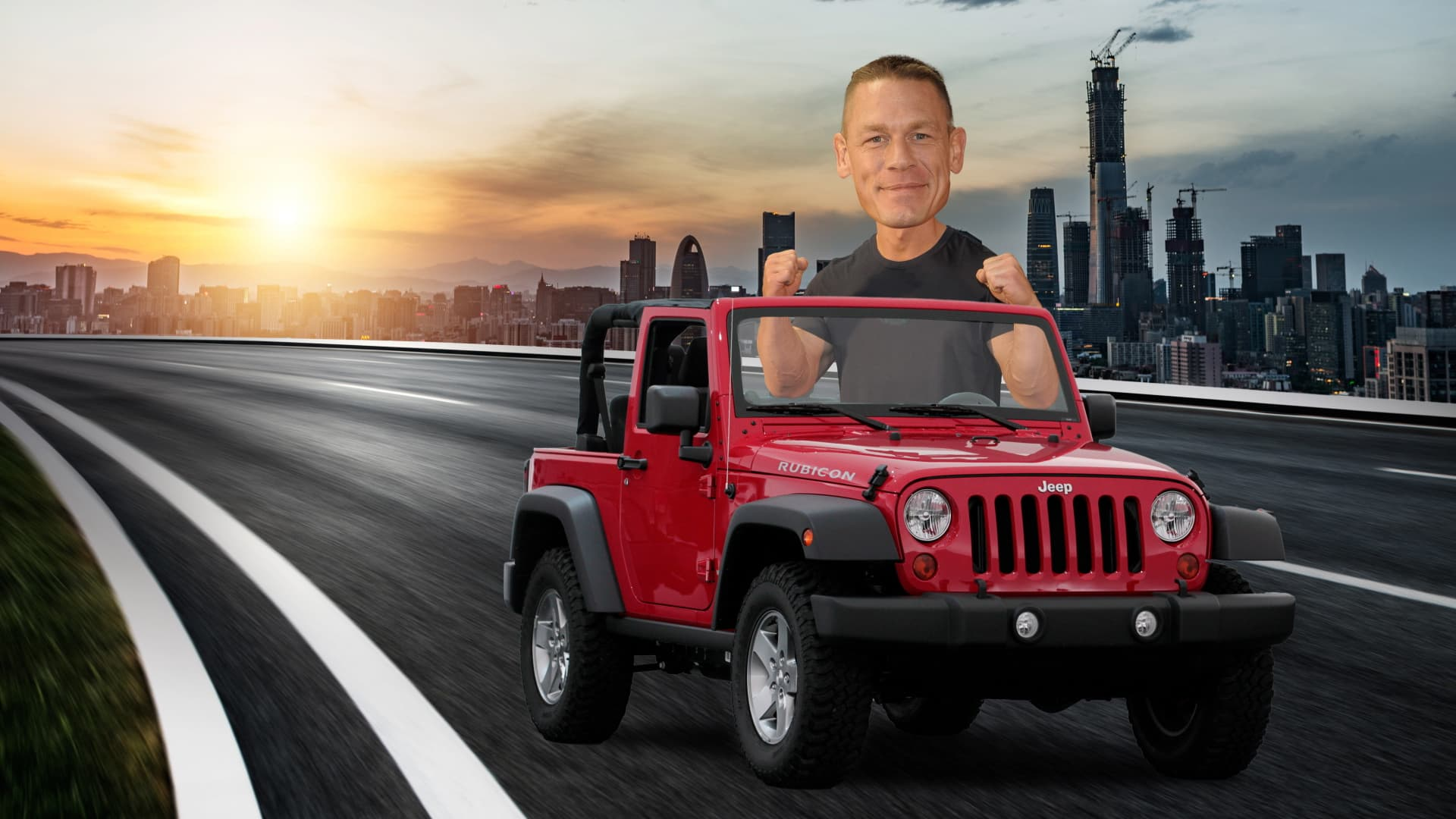 John Cena Bought A 1989 Jeep Wrangler With His First Wwe Paycheck