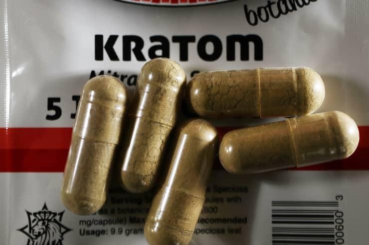 GS: Kratom capsules 160510