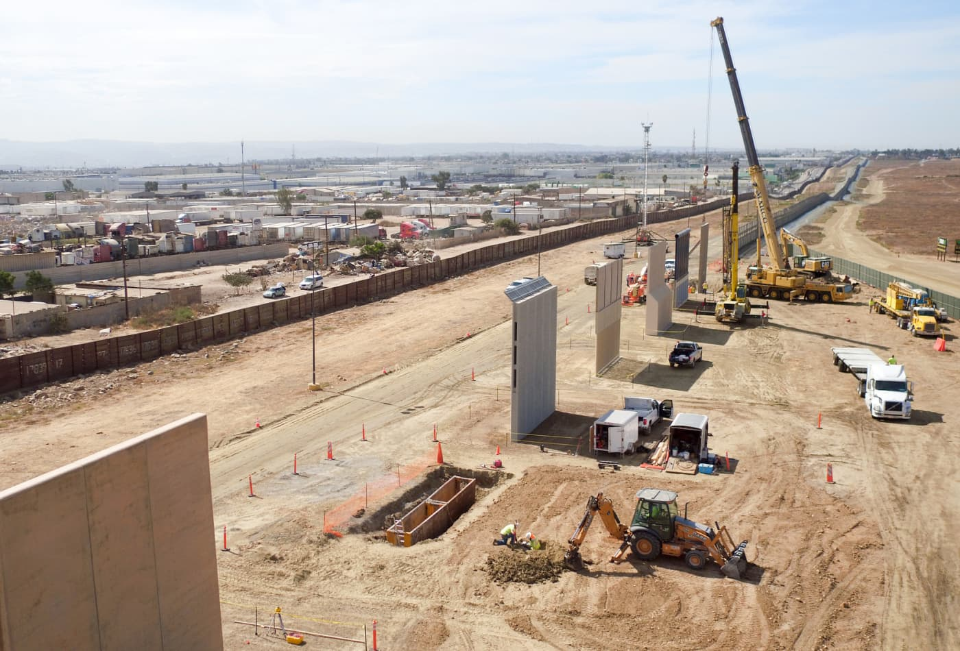 Trump's border wall could run overtime and over budget and perform below expectations: Watchdog report