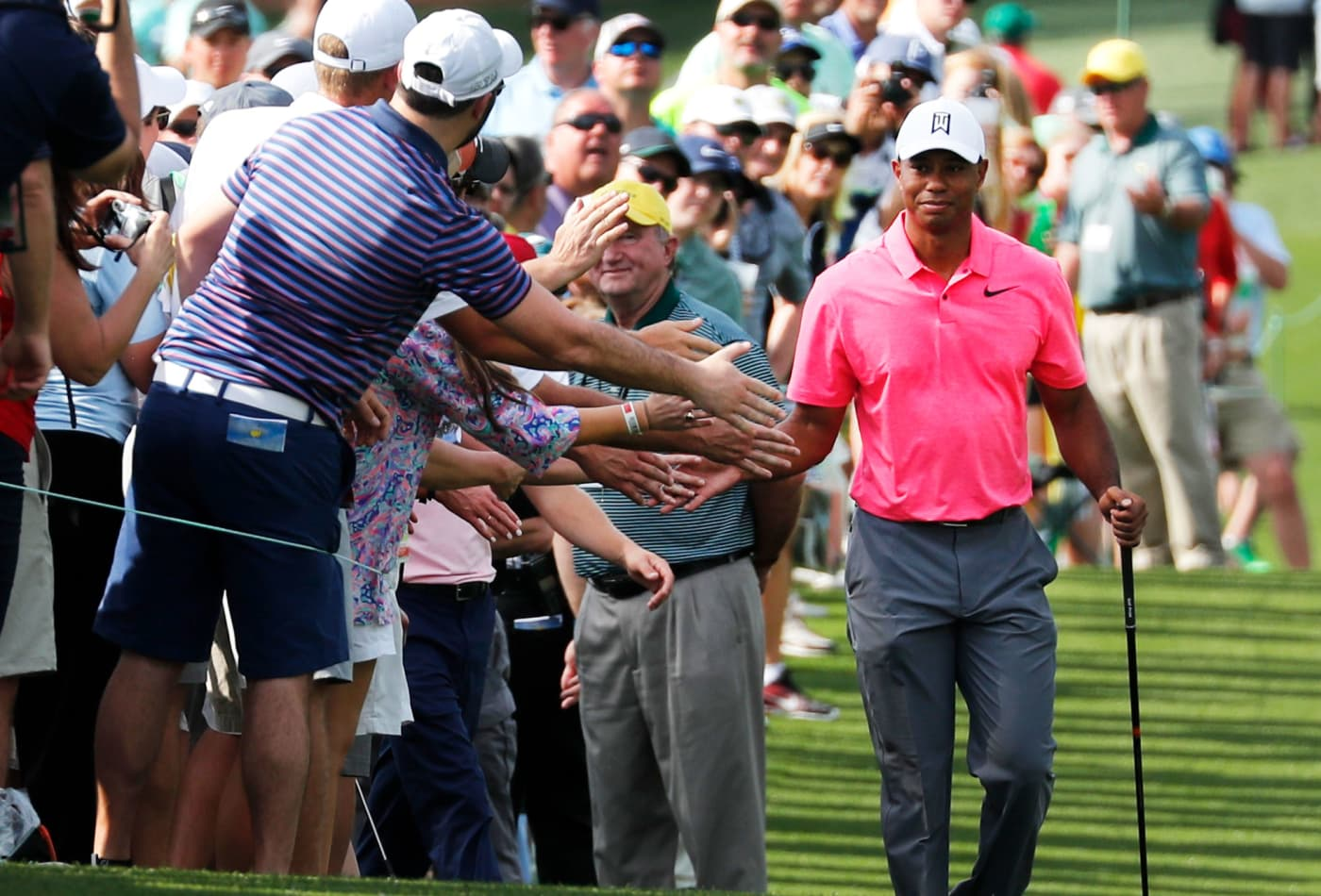accd424ff Nike welcomes Tiger Woods back to the Masters with ad featuring his ...