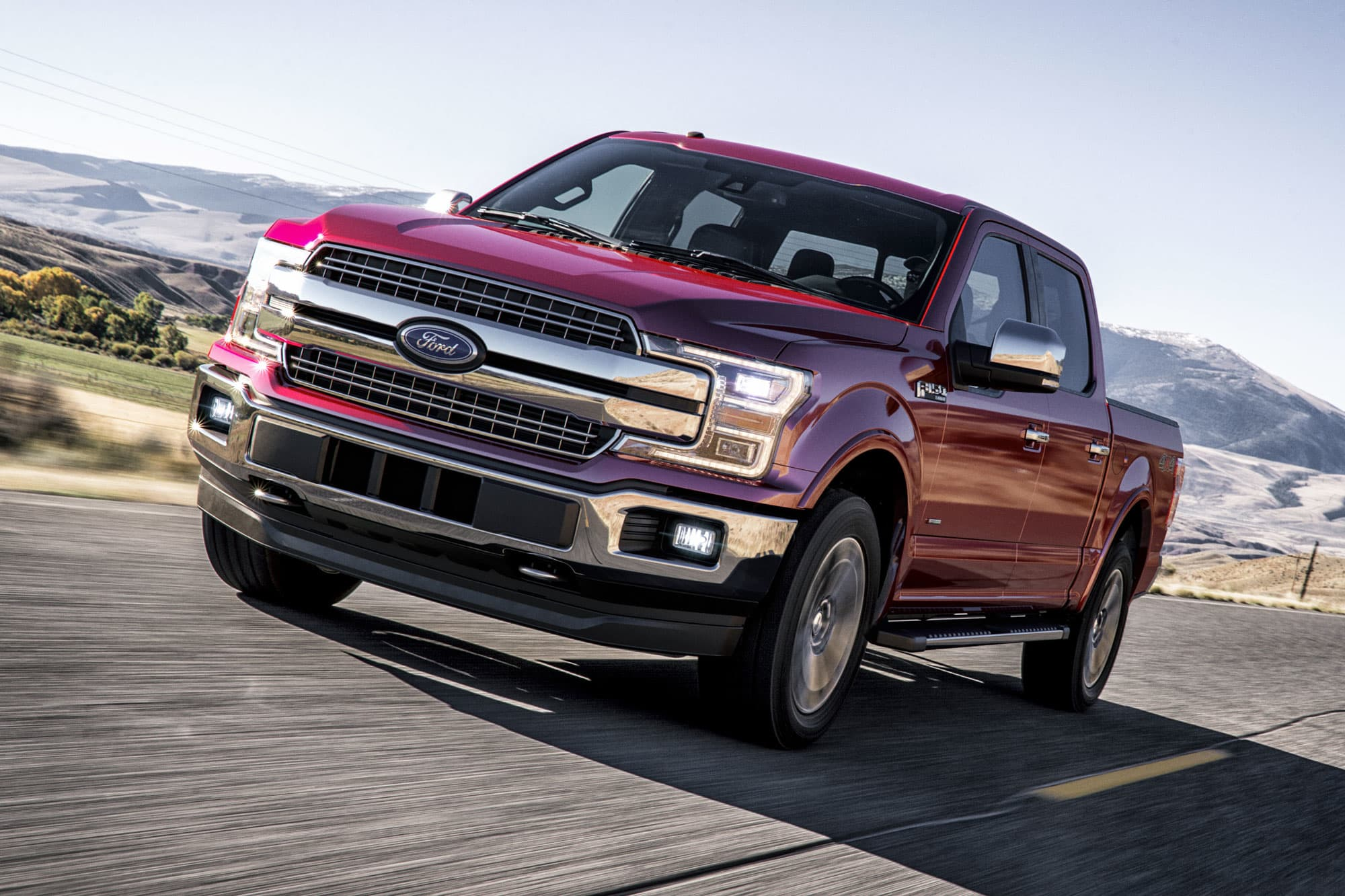 Ford recalls about 350,000 F-150s and Expeditions for faulty