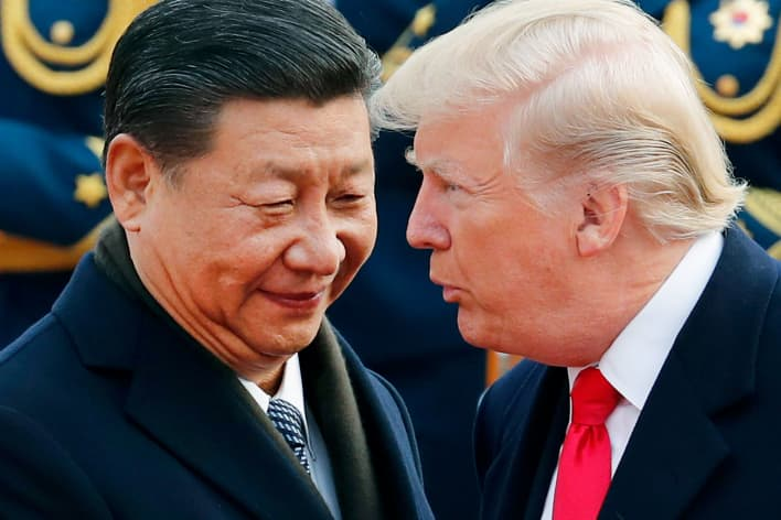Trump is winning the game of economic chicken right now with China, but that could soon change 105114519-AP_18016719139328