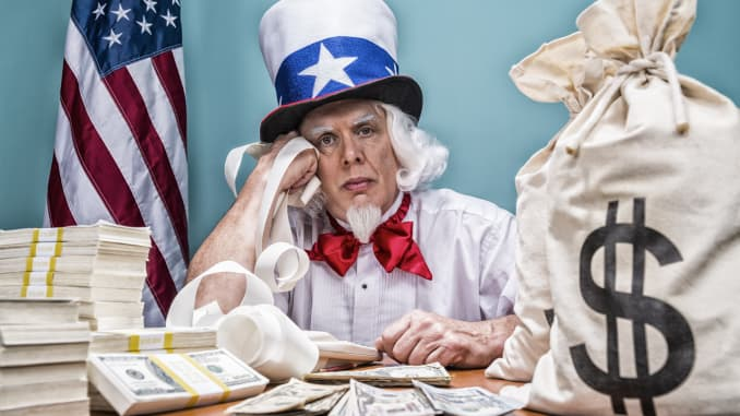 Uncle Sam wants your cash.