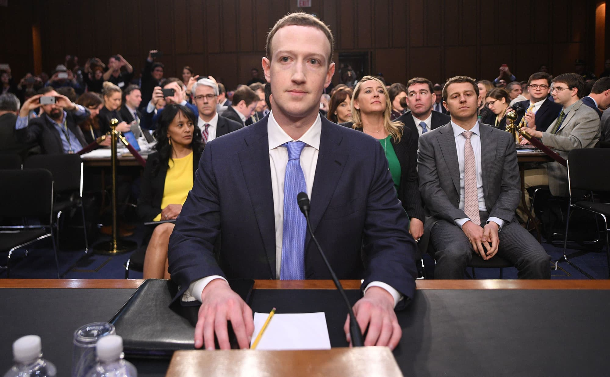 Watch Mark Zuckerberg deliver a speech on free expression at Georgetown University
