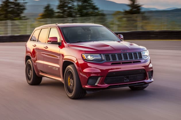 Rewelacyjny Fiat Chrysler outlines big plans for electric Jeeps and Ram pickups IA28