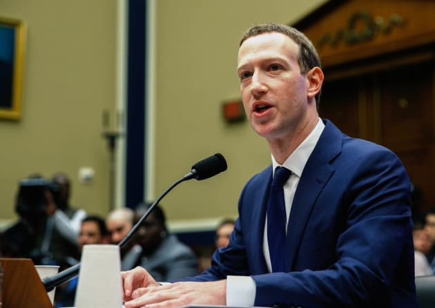 Premium: Mark Zuckerberg in front of house committee