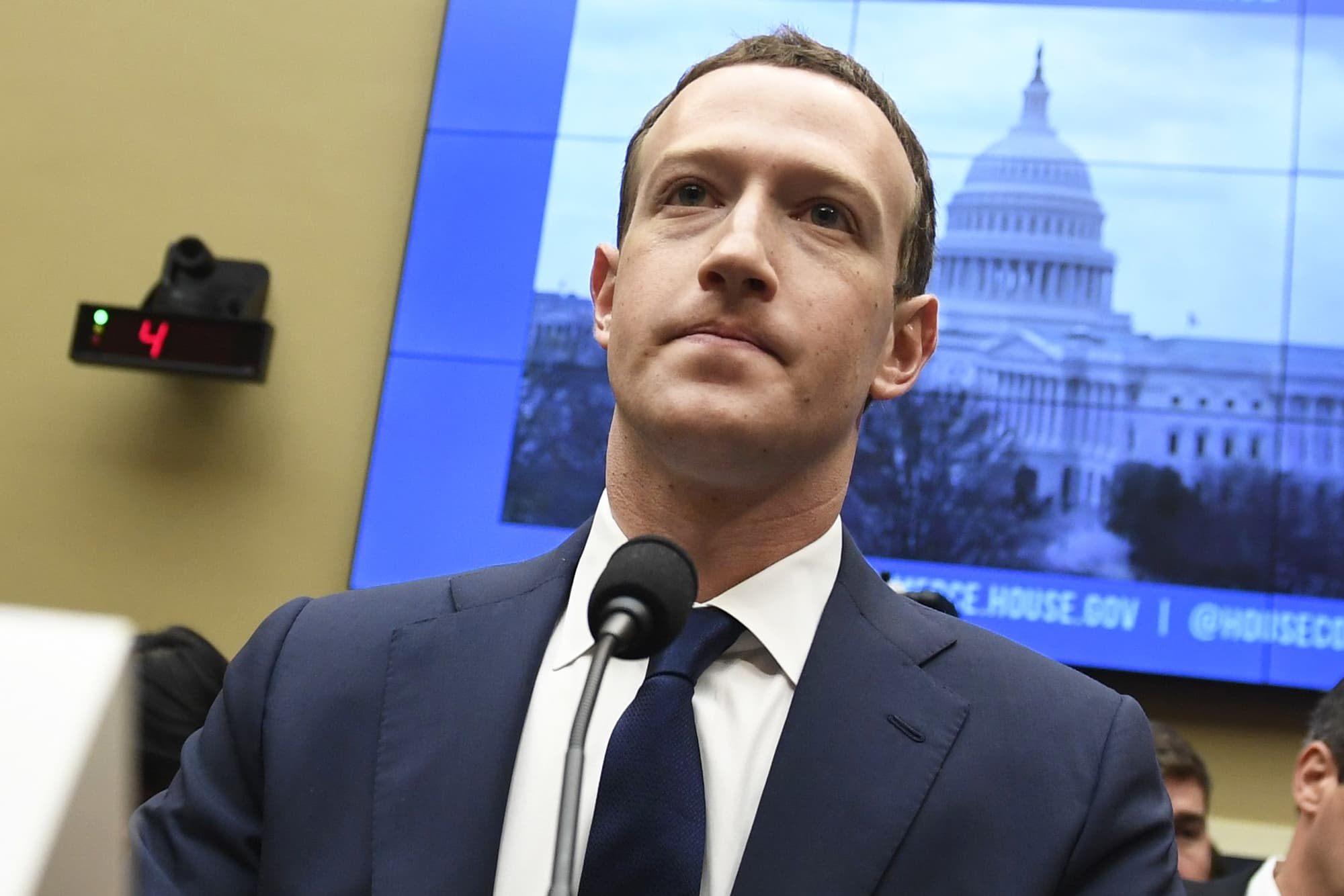 One of Zuckerberg's top critics in Congress says he told him to sell Instagram and WhatsApp