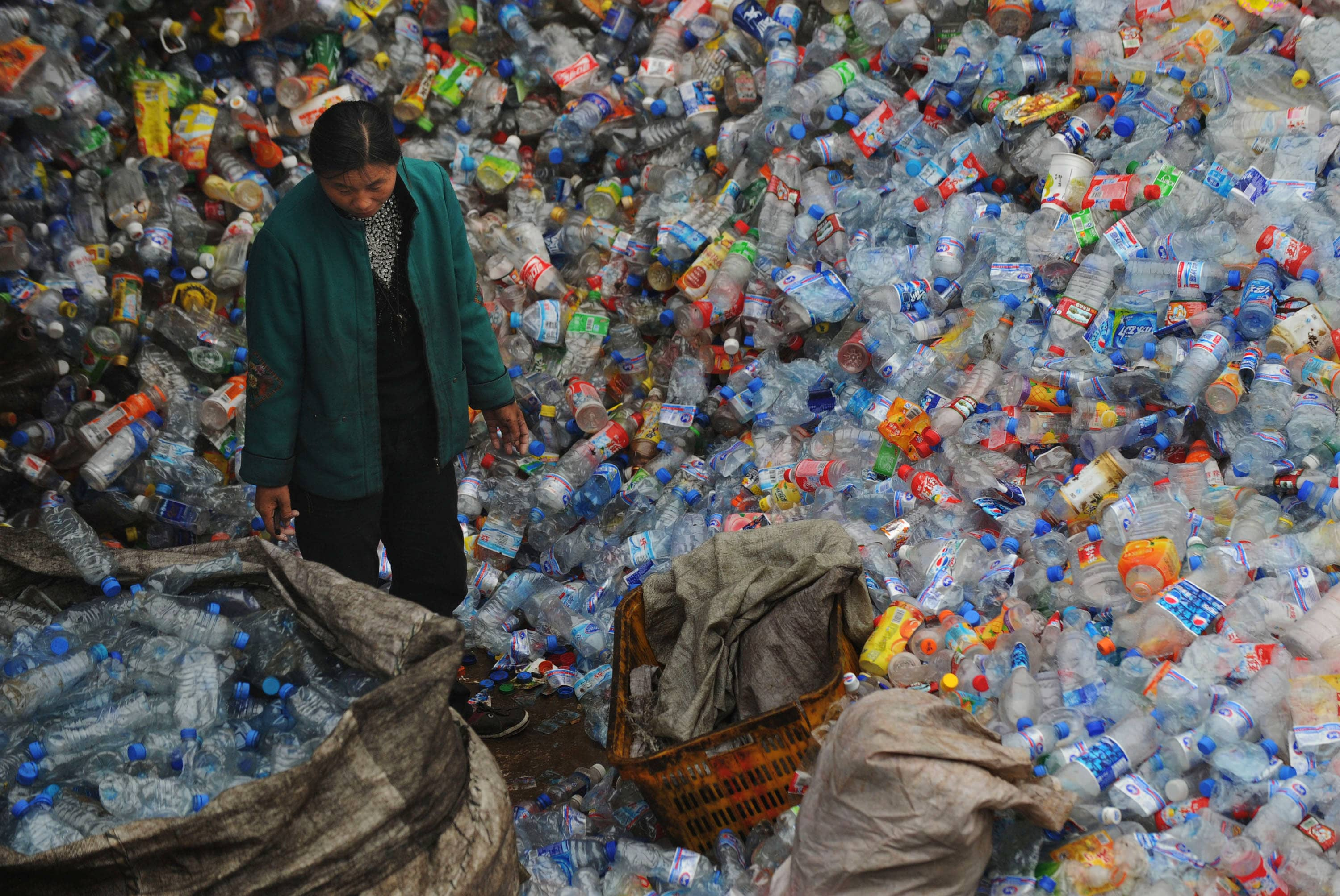 Climate Change China Bans Import Of Foreign Waste To Stop