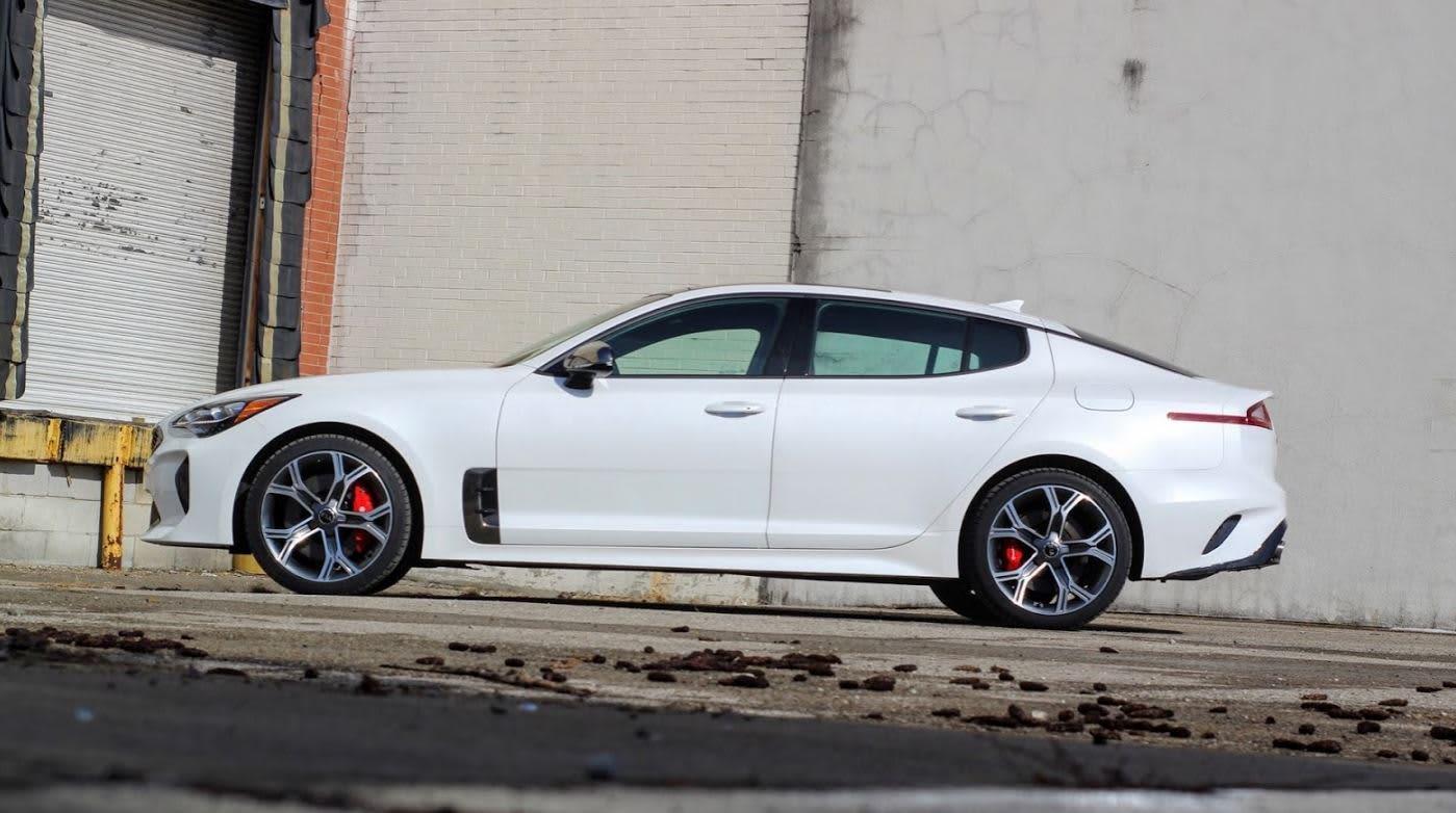 The 2018 Kia Stinger GT1 AWD V6 review