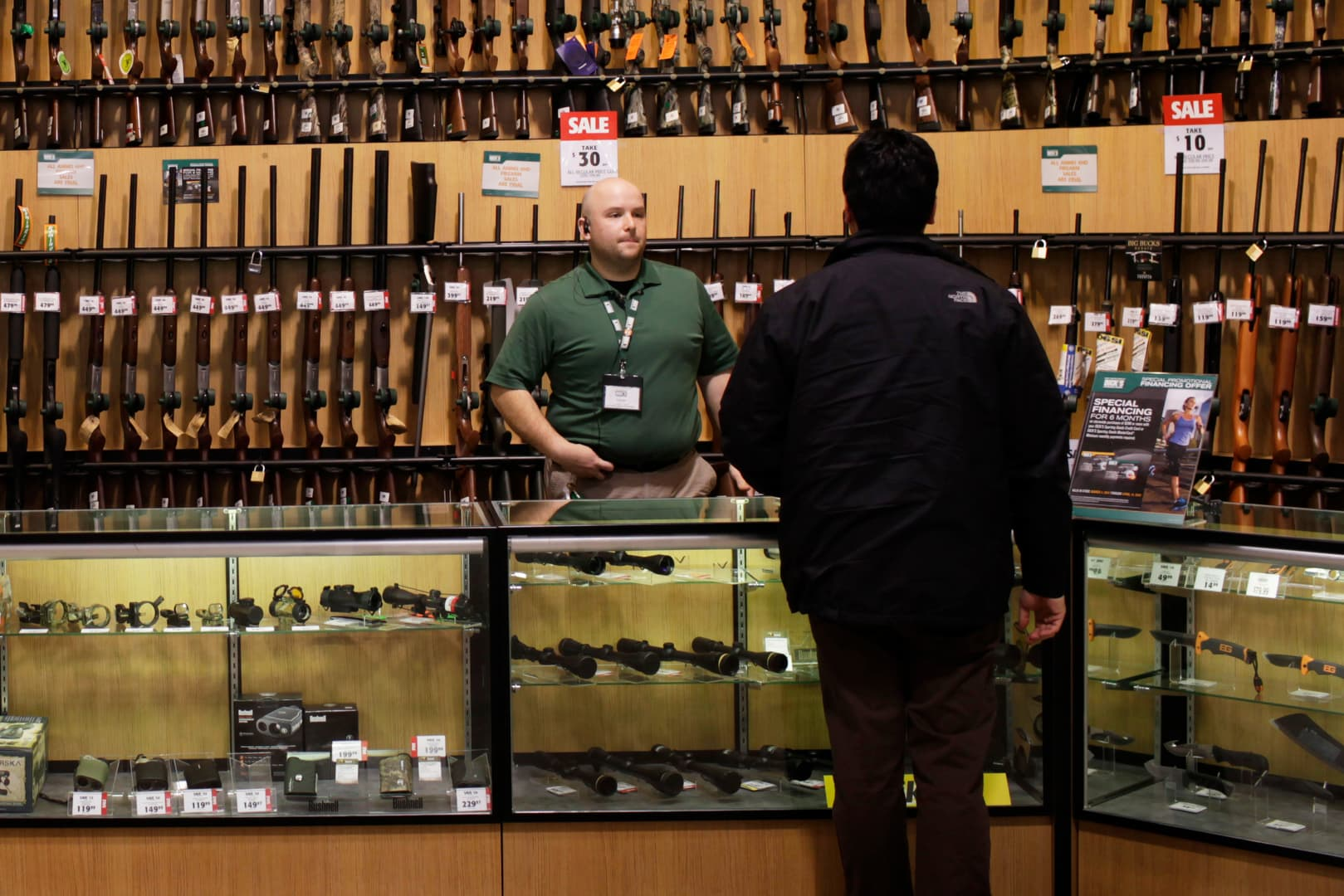 Trump administration eases firearm export rules