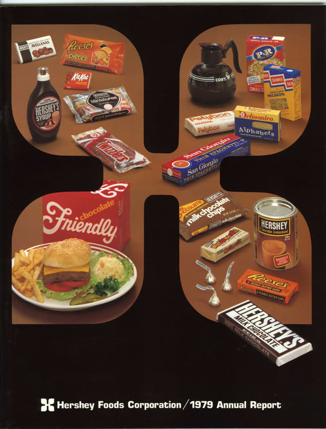 ONE TIME USE: Hershey's 1979 Annual Report cover