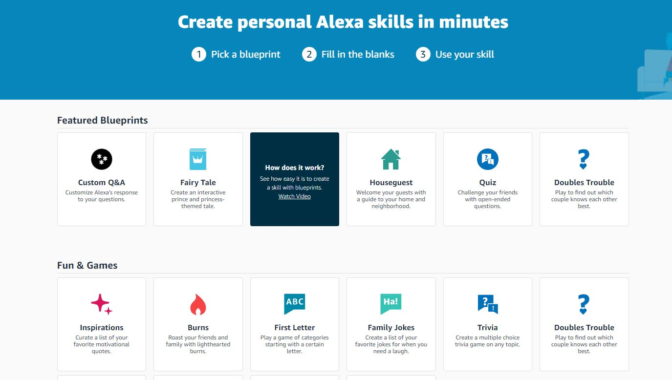 How to create custom responses for Alexa on Amazon Echo