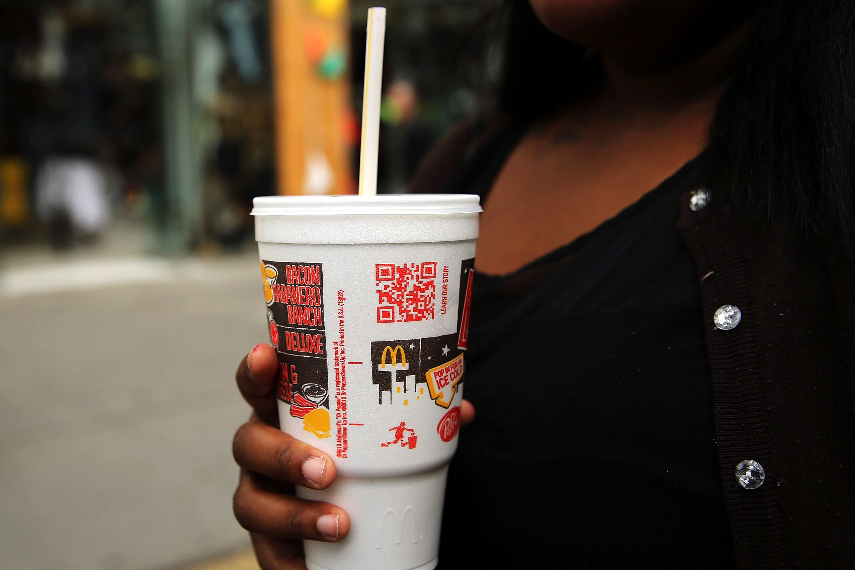 McDonald's paper over plastic straw? Better for earth to not use one