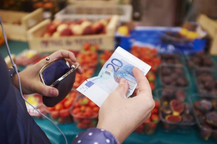 Reusable: Euros purse 180424