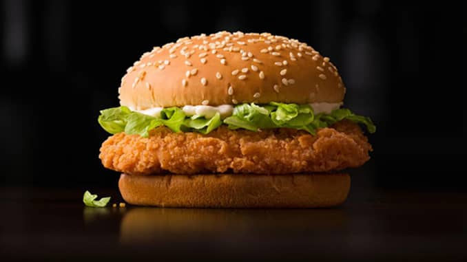McDonald's offering 1-for-1 McSpicy® Burger from 4 – 6 Jan 2021