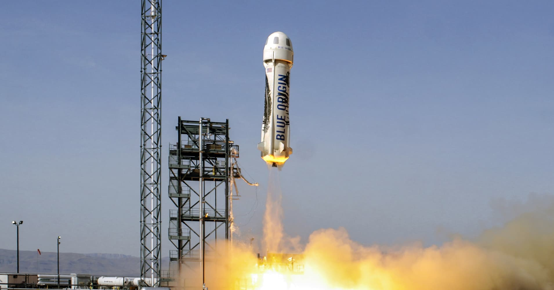Blue Origin just launched and landed the rocket Jeff Bezos wants use for  space tourism