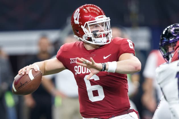 0891a64bb Browns select QB Baker Mayfield as its No. 1 NFL draft pick