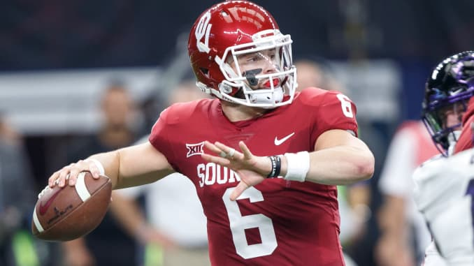Browns select QB Baker Mayfield No  1 in NFL draft