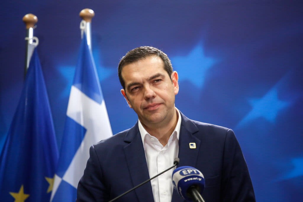 Greece's Tsipras has a message for the new prime minister: Take advantage of what we did