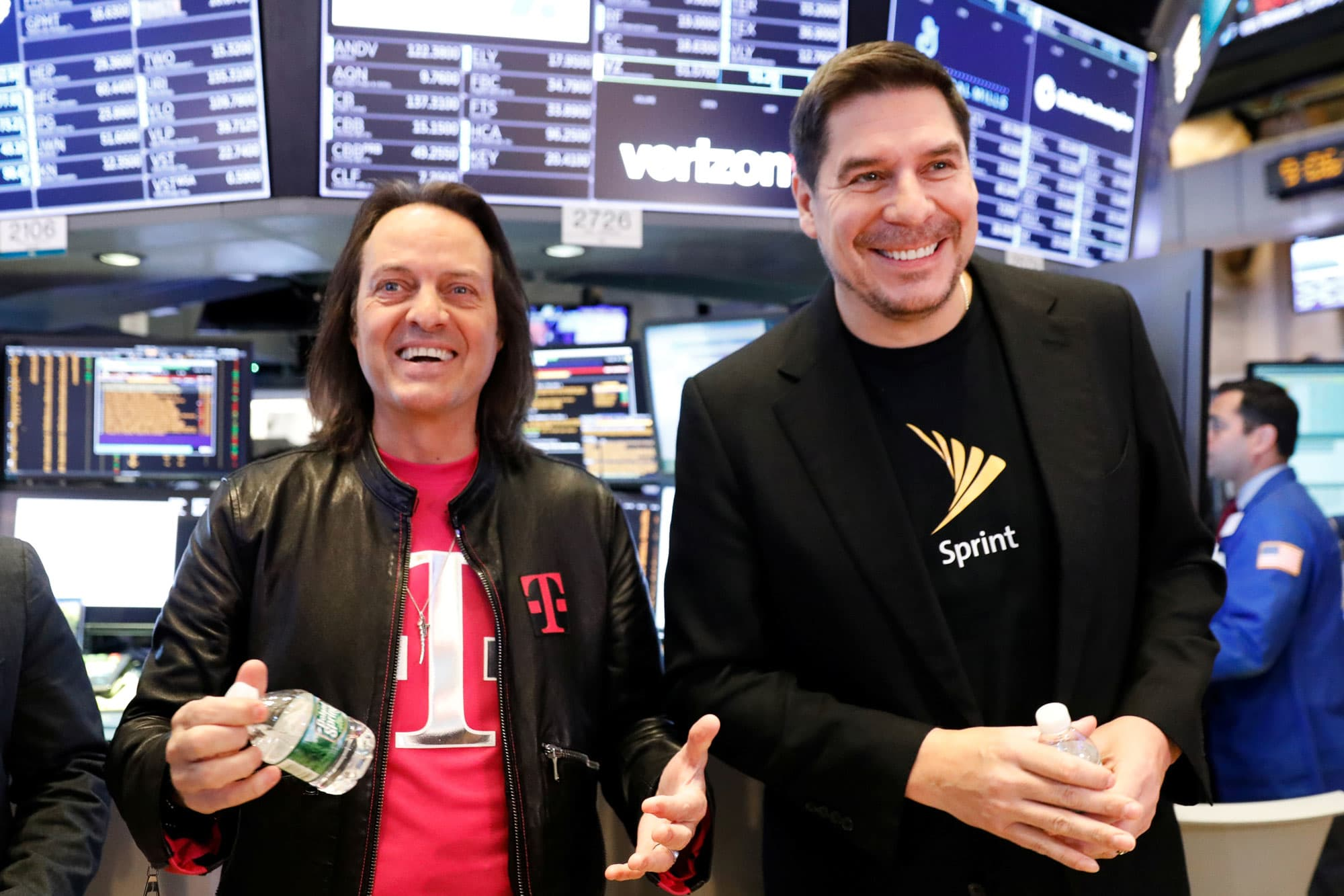 DOJ announces agreement on $26 billion merger between T-Mobile and Sprint