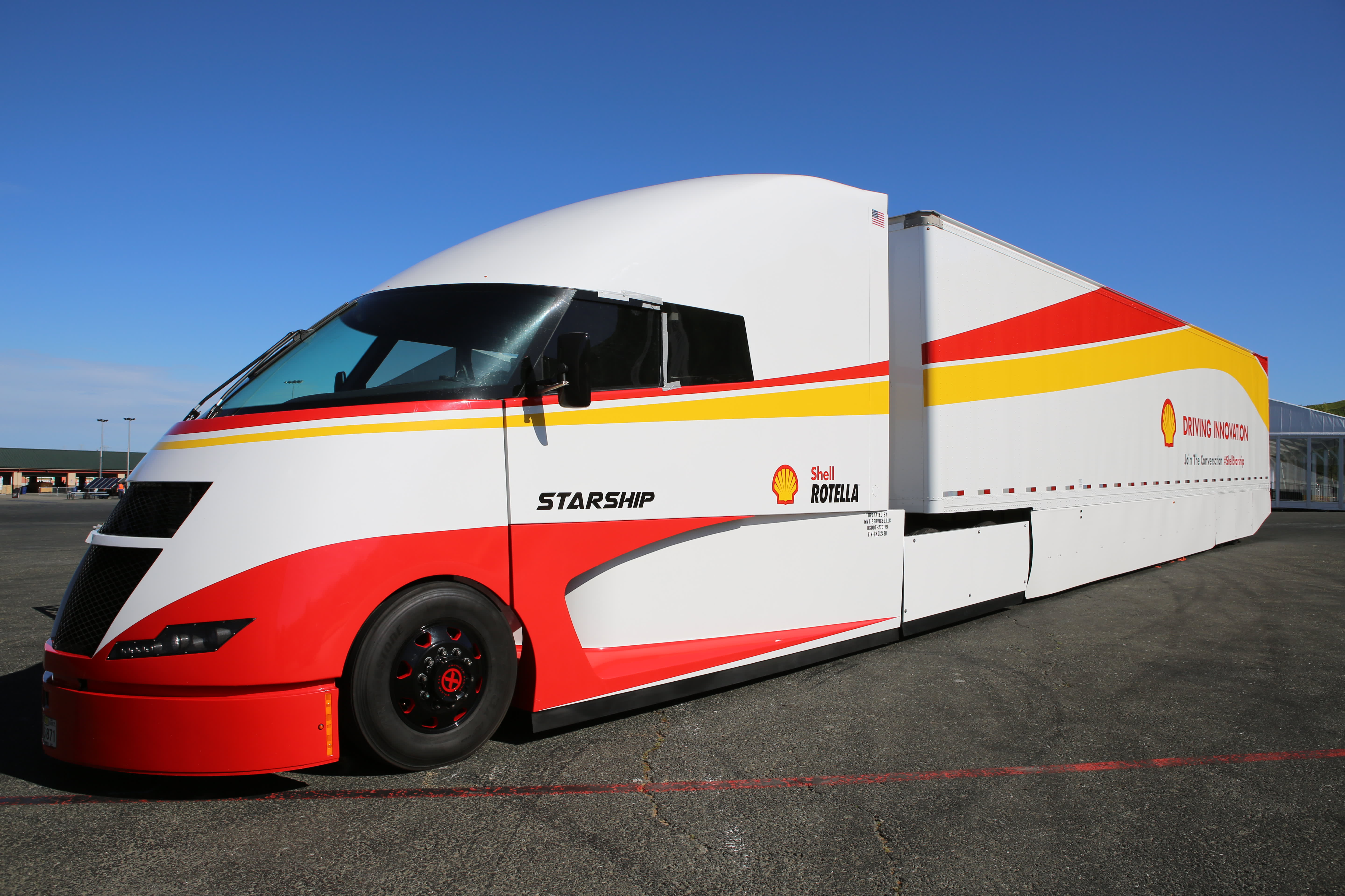 Shell Has A Plan To Match Tesla With Energy Efficient Long Haul Truck