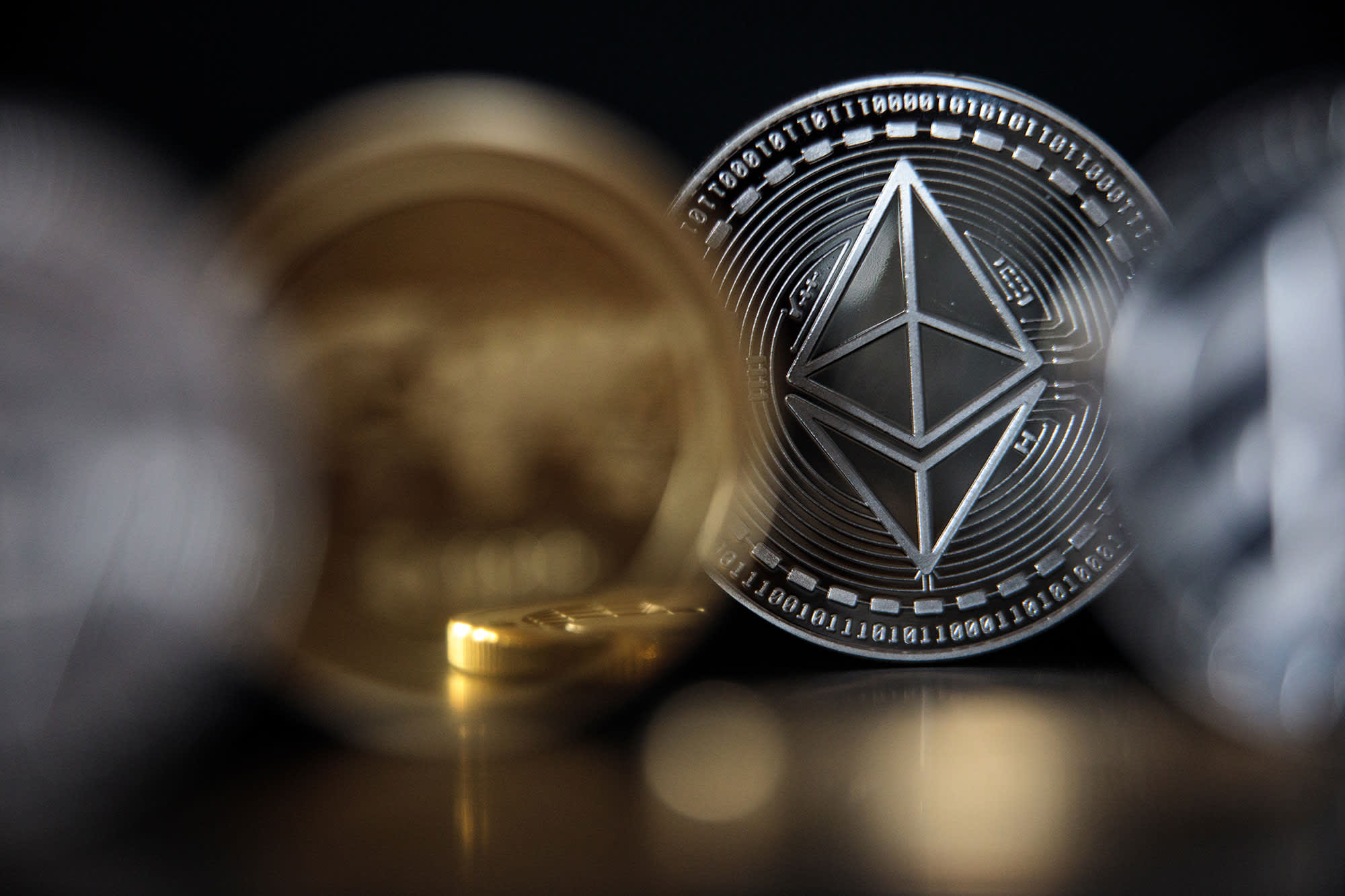 Ethereum hits new record high above ,400, extending its more than 300% rally this year