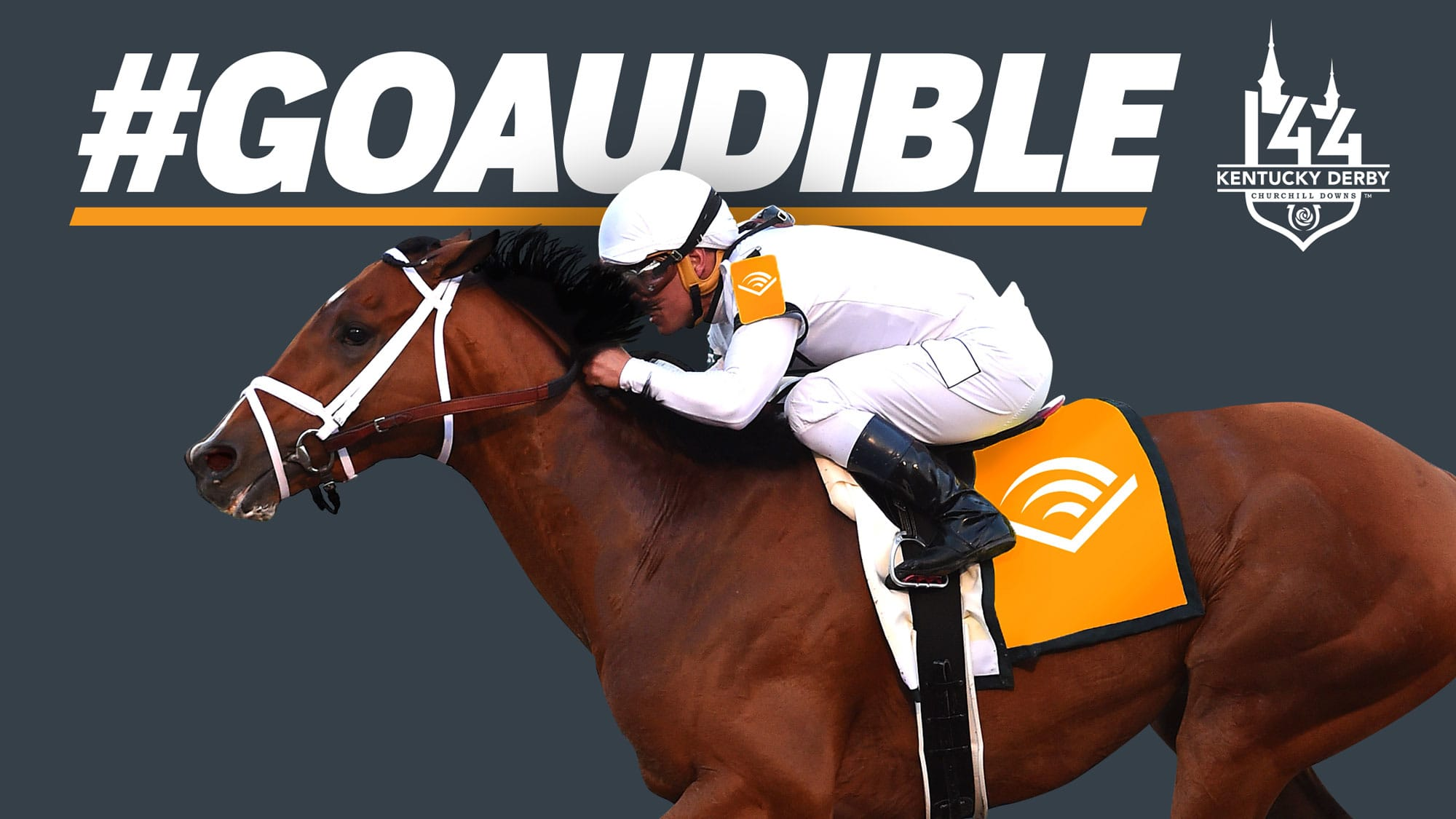 Amazon sponsors Kentucky Derby horse Audible