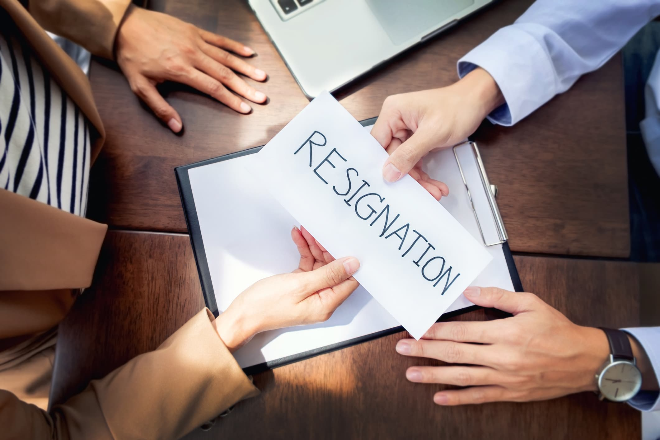 Resignation Tips Why You Should Never Accept That