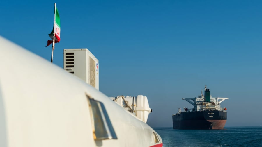 Oil prices will climb above 0 a barrel if Iran blocks the Strait of Hormuz, analysts predict