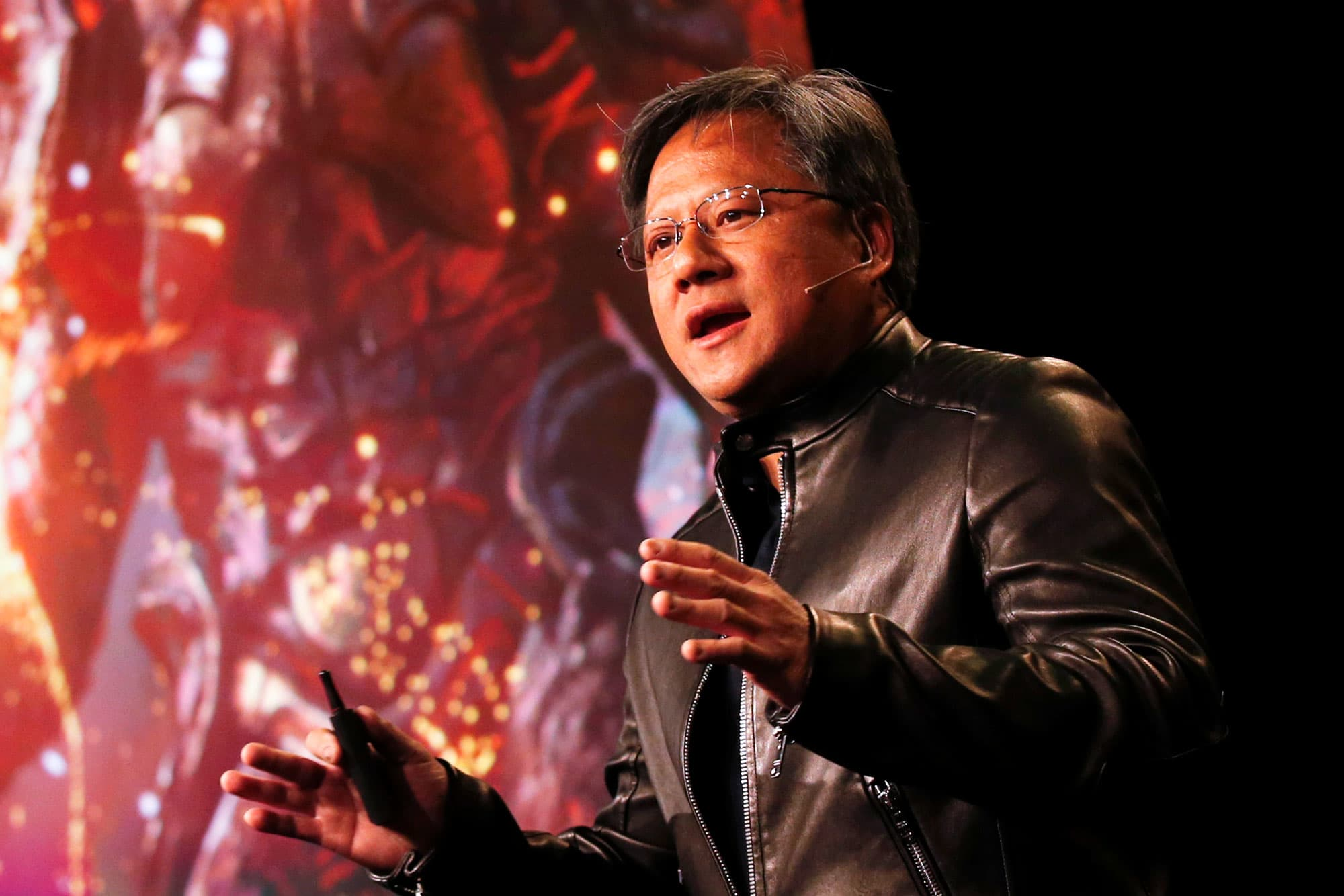 Nvidia CEO doesn't expect China to block $7 billion takeover of Mellanox, despite trade tensions