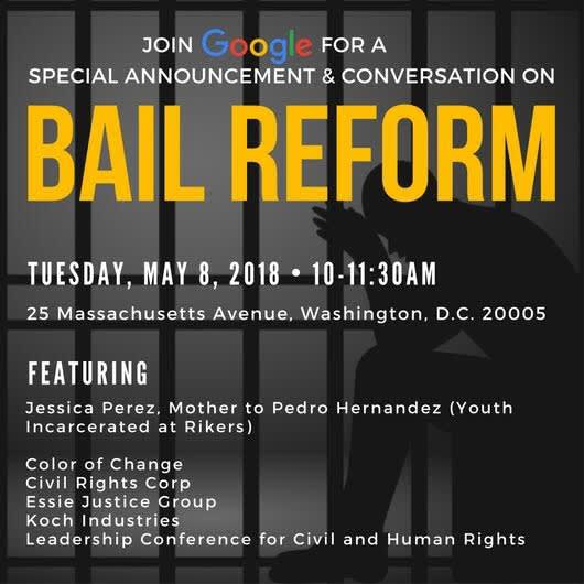 ONE TIME USE: Bail Reform Invite