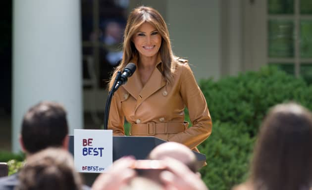 Kids Are Quoting Trump To Bully Their >> Melania Trump Launches Be Best Initiative To Promote Children S