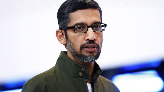Google CEO memo says 48 fired for sexual misconduct