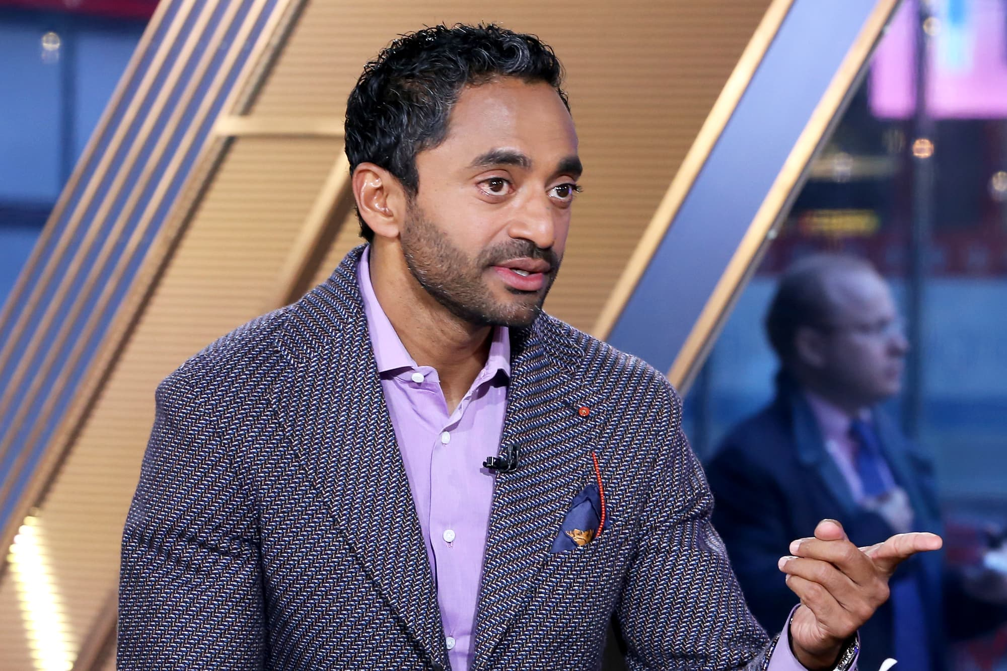 Silicon Valley investor Chamath Palihapitiya says he loves Elizabeth Warren's wealth tax