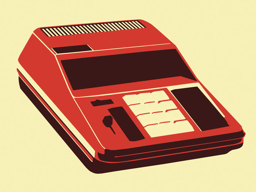 Premium: Calculator illustration