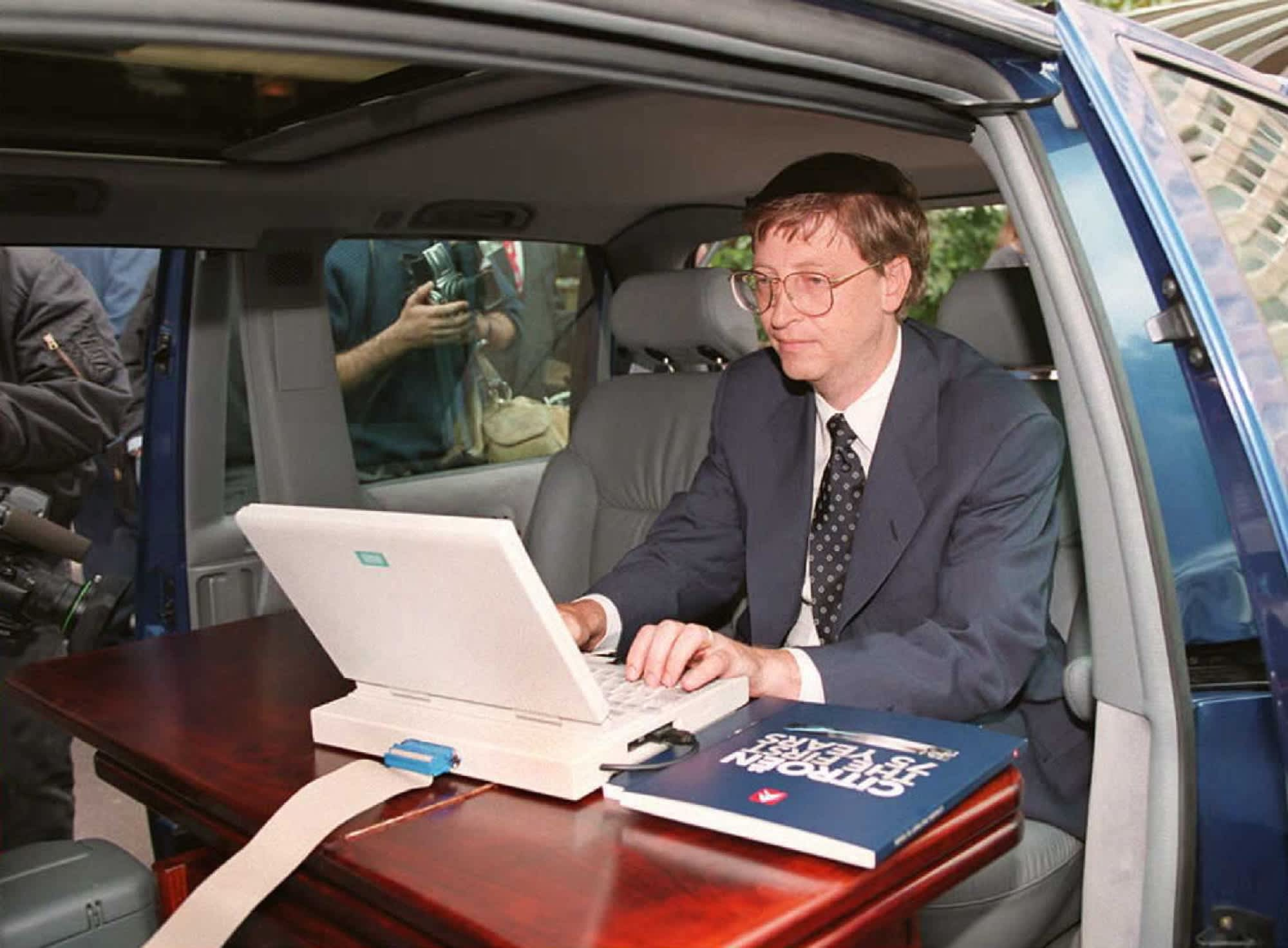 How Bill Gates described the internet to David Letterman in 1995