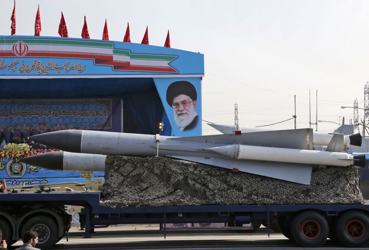 Iran celebrates 'momentous day' as UN arms embargo lifts. Here's what it means