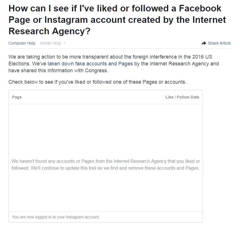 CNBC Tech: Facebook IRA tool