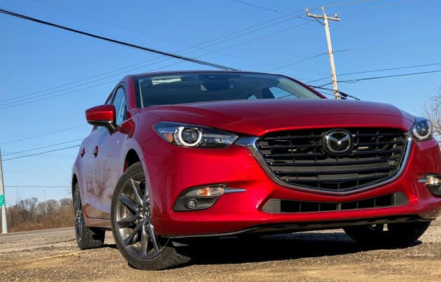 The 2018 Mazda 3 Grand Touring is an almost perfect hatchback