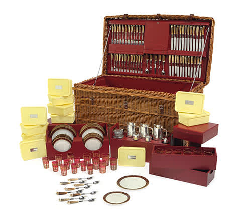 Rockefeller auction Picnic set