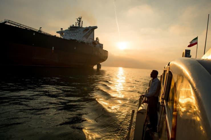 Iran oil tanker EA