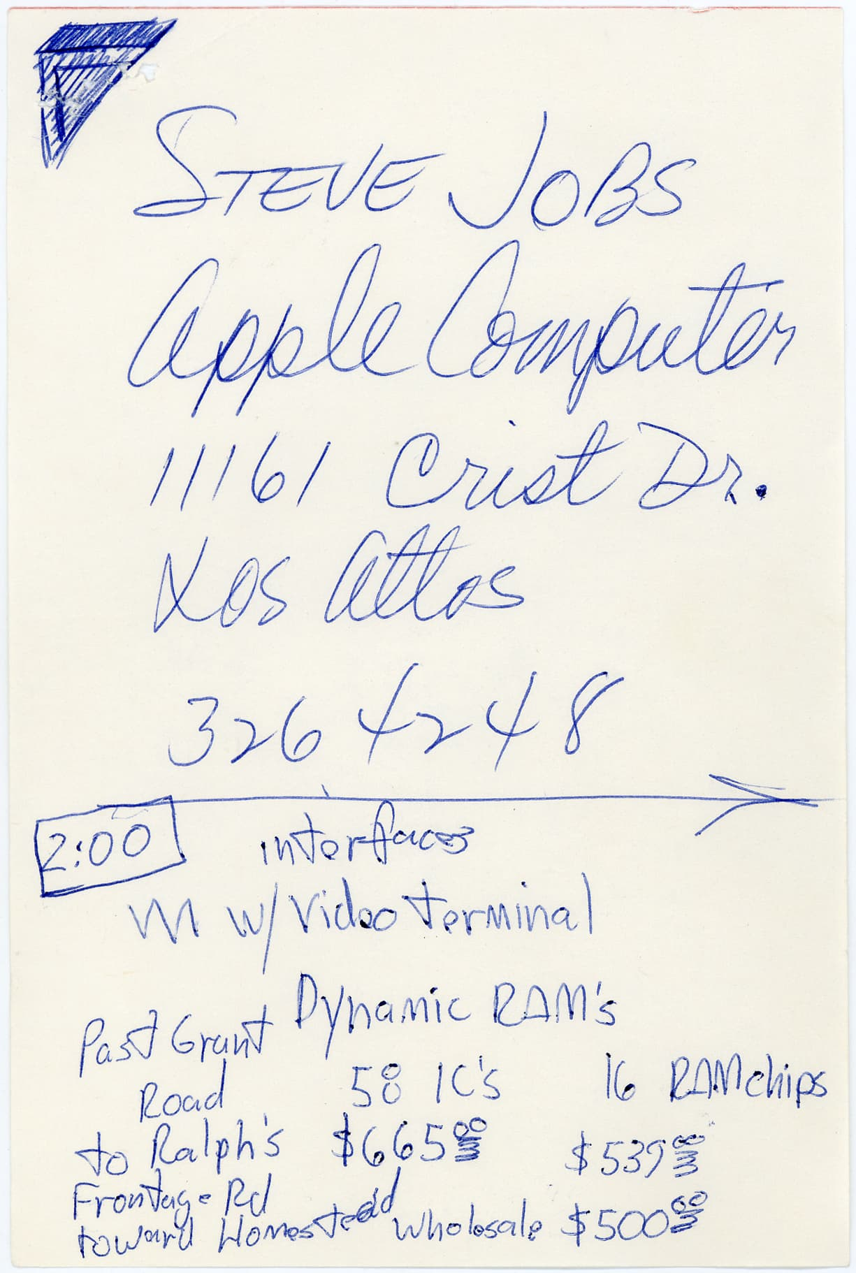 One time use: Steve Jobs letters 3