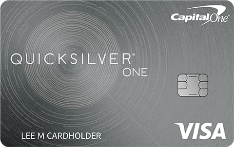 Credit Cards: Capital One QuicksilverOne