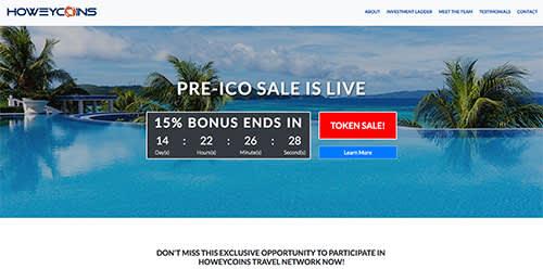 Howeycoins.com bogus crypto site