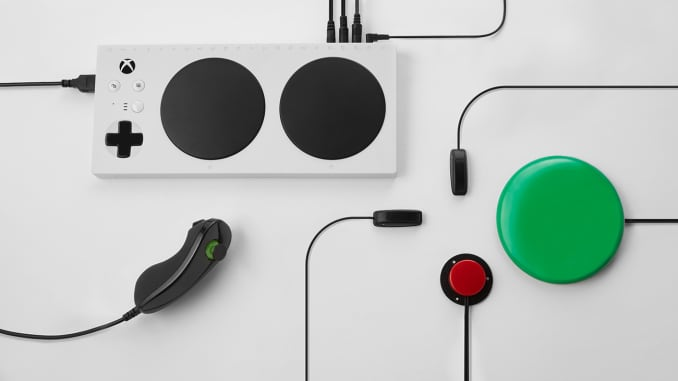 Microsoft unveils Xbox Adaptive Controller for disabled gamers