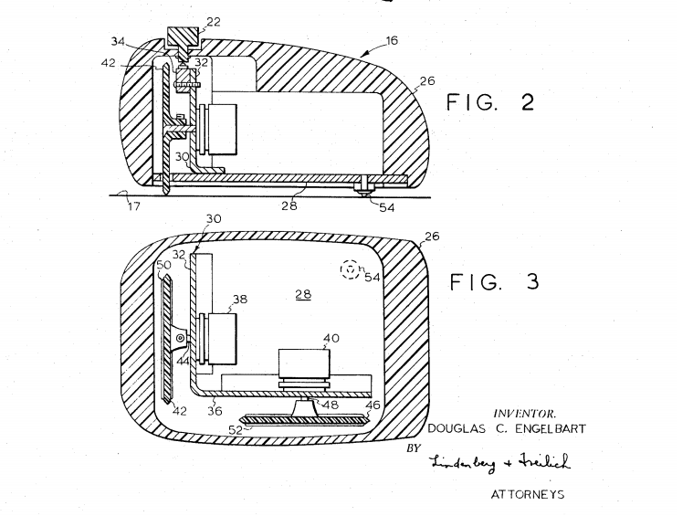 Handout: Patent of the computer mouse